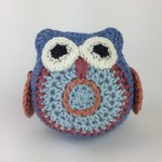 Owl Softie | Baby | Gift Idea | Wool | Bamboo |  Hand Crocheted | Ready to Post