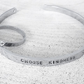 Ring and Bangle Set, Hand Stamped Cuff, Hand Stamped Ring, Jewellery Set