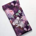 Padded Sunglasses Pouch in Gorgeous Koala Fabric