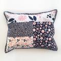 Patchwork cushion, decorative cushion,