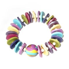 Romance – Polymer Clay Bracelet