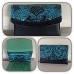 Blue/Aqua Theme Trifold Wallet
