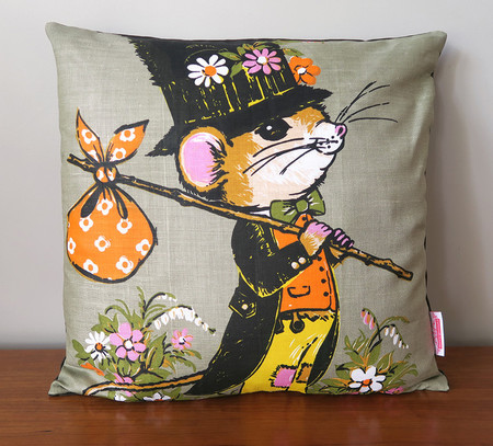 Cute Hobo Mouse Cushion