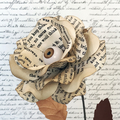 Gorgeously Gothic Roses / Paper Flowers / Halloween
