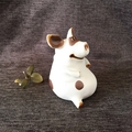 Pig garden statue ceramic sculpture animal figurine outdoor and home decoration