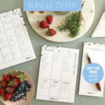FREE Notepad valued at $9.50.  Bambusa Collection : Bundle Offer.