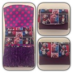 Harley Quinn Theme Trifold Wallet
