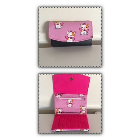 Kitty Theme Trifold Wallet