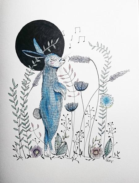 Dreamer Hare- Original