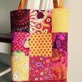 Patchwork Tote bag, Quilted Tote bag, Patchwork bag, Quilted Shoulder bag