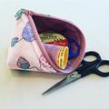 Cute Pod, Craft Bag,  Jewellery Pouch, Makeup Bag, Dog Bag, Dog Pouch, Pooch Bag
