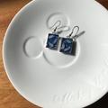 Free Postage, resin earrings