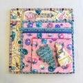 Scissor pouch, Scissor case, Scissor cover, Notions pouch