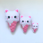 Special All 3 Ice Cream Kitty cats