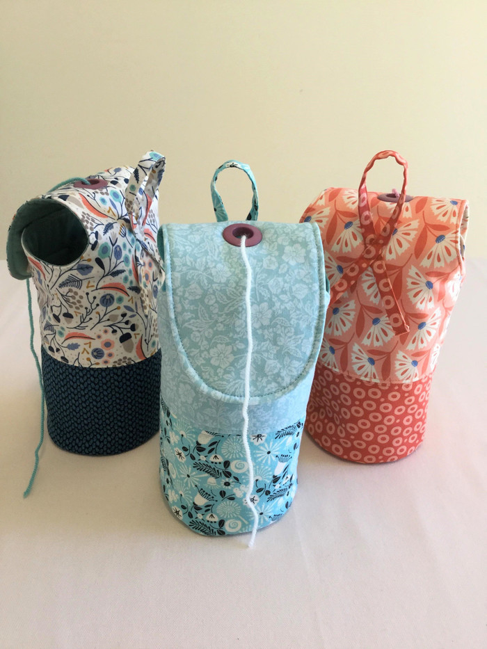 Yarn Holder Wool Holder Knitting Or Crochet Bag Chain Bay