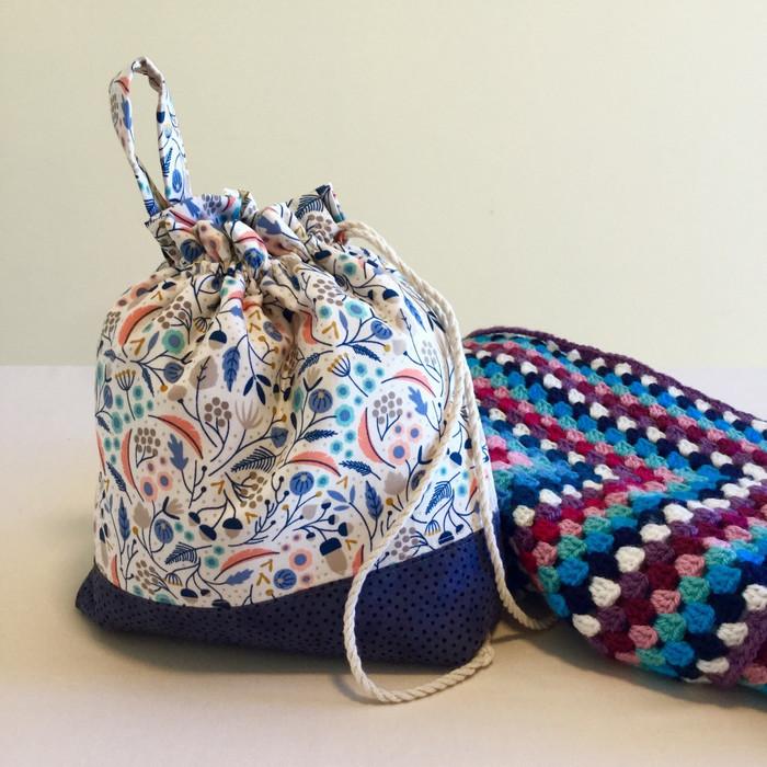 Yarn Bag Wool Bag Wool Organiser Yarn Holder Crochet Bag