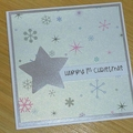 Merry Christmas card - First Christmas - LAST ONE