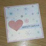 Merry Christmas card - First Christmas
