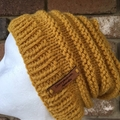 Knitted Beanie Pattern, pompom beanie, knitted hat pattern, beanie pattern, mens