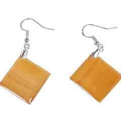 Pine Wood Earrings