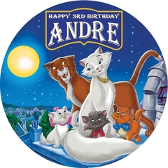 Aristocats Edible Image Real Icing personalised Cake Topper