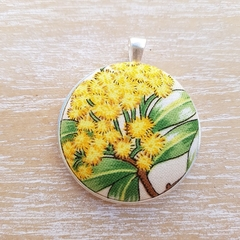 Golden Wattle Pendant