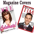 Magazine Covers Personalised Edible Image Real Icing Cake Topper Large A4 Vogue