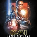 Star Wars Personalised Edible Image Real Icing Cake Topper