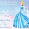 Cinderella personalised Print your Own Invitation Digital File