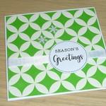 Merry Christmas card - Season's Greetings