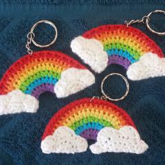 Rainbow Keyrings/Bag Buddies