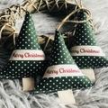 Handmade Christmas decorations set of 3 teacher gift idea
