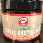 Lime & Walnut Coffee Body Scrub - 350g