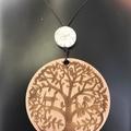Family Tree Mandala pendant