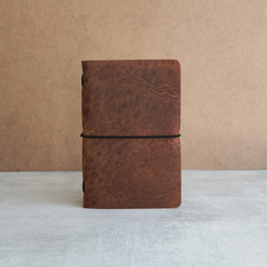 POCKET PIONEER LEATHER JOURNAL - COPPER