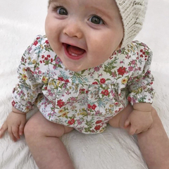 Baby Girls Romper - Size 6-9mths
