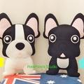 French Bulldog Plush / Dog Softie / Dog Toy / Dog Pillow / 100% Wool Felt Toy