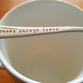 Teachers Change Lives,Teacher Gift,Teacher Thank you, Hand Stamped Spoon,
