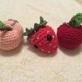 Fruit Bag Buddies/ Keychains