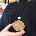 Family Tree Mandala pendant