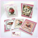 French Influence Handmade Notecards - set of 5