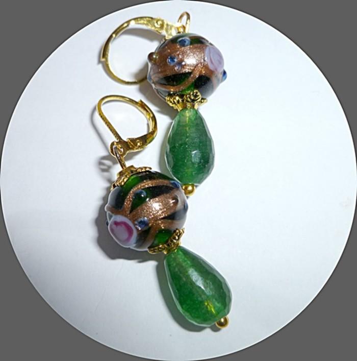Green Wedding Cake Earrings Dreamystuff Madeit Com Au
