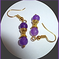 Waisted Alexandrite earrings