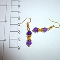 Waisted Alexandrite earrings