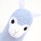 'Angus' the Sock Alpaca - blue  - *READY TO POST*