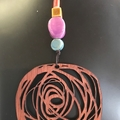 Scribble pendant