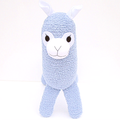 'Angus' the Sock Alpaca - blue  - *READY TO POST*
