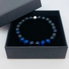 Bracelet - Blue Tigers Eye. Sml, Med, Lge, XL