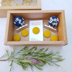 Blossom & Mustard Magnet Gift Box Set