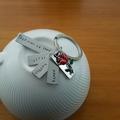 Custom Mum Keyring, Personalised Keyring,This mum is loved, Mothers day gift